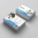 Дизайн визитки для клининговой компании в Астане