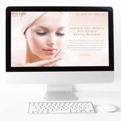 Разработка сайта для салона красоты