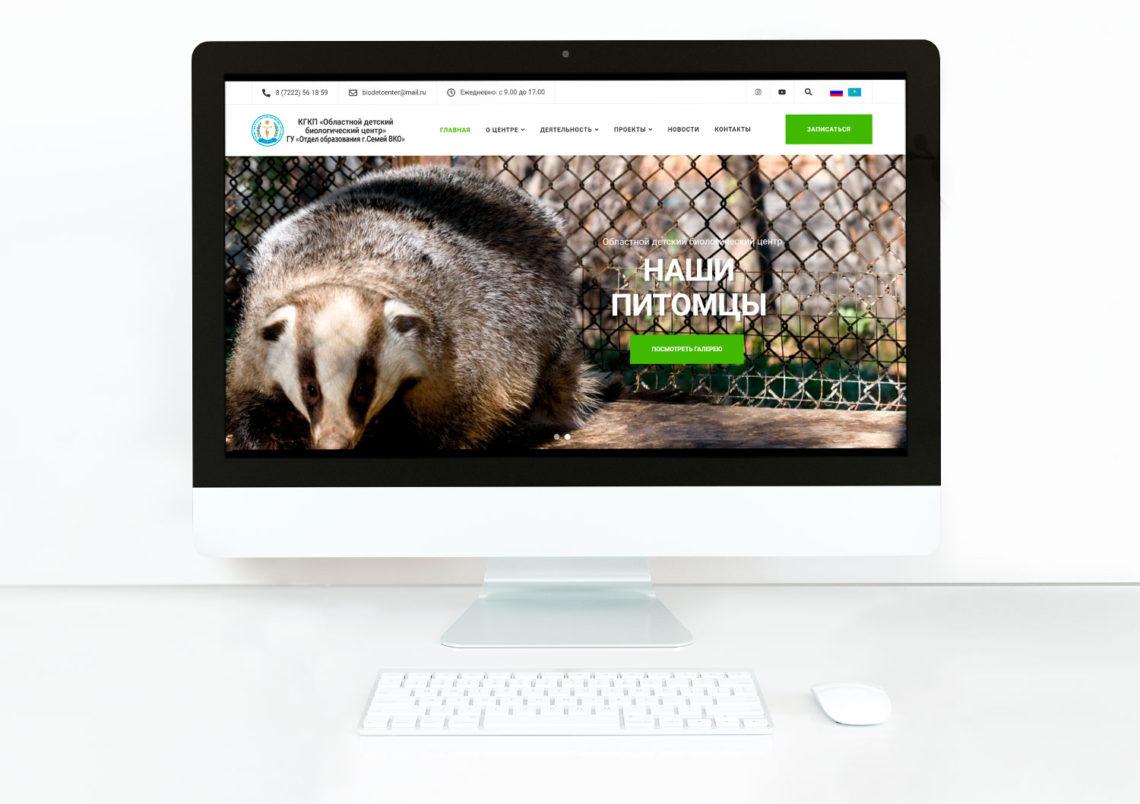 Разработка нового сайта в Семее